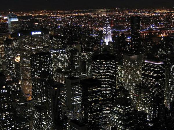 1 Njujork Najlepše noćne panorame sveta