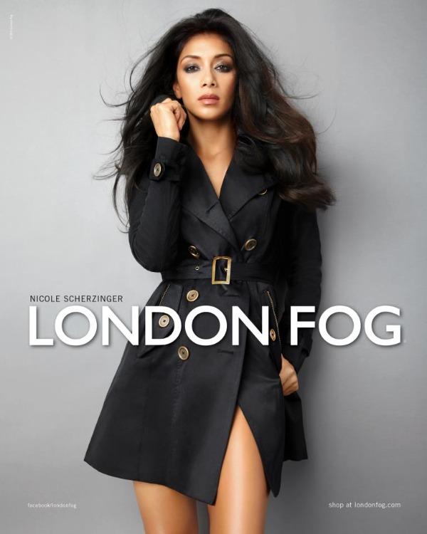 108 Seksi Nicole obožava kapute London Fog