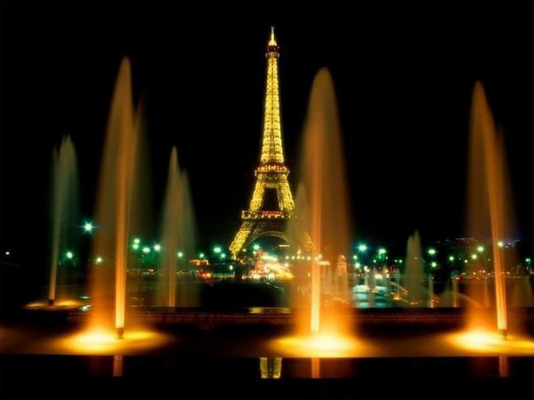 2 Pariz  Najlepše noćne panorame sveta