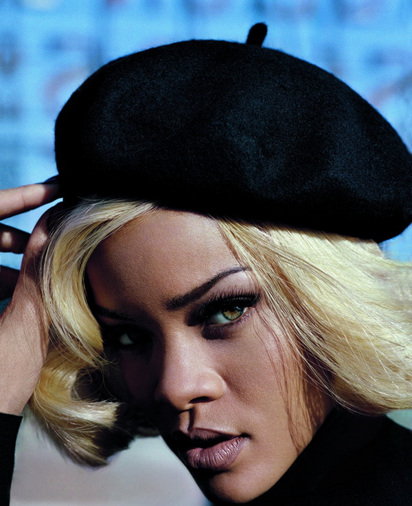 211 Marilyn Monroe is back: Rihanna za Vogue UK, novembar 2011.