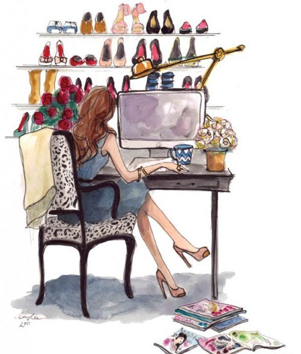 2110 Inspiracija iz Njujorka: Modne ilustracije Inslee Haynes