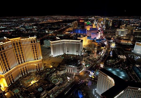 6 Las Vegas Najlepše noćne panorame sveta