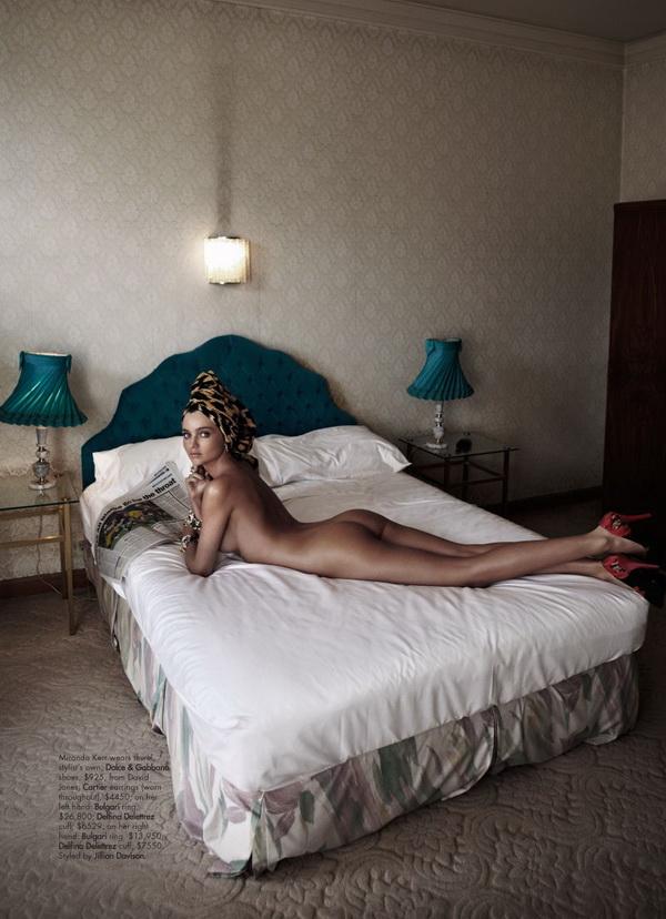 715 Harpers Bazaar Australia: Miranda Kerr u hot izdanju