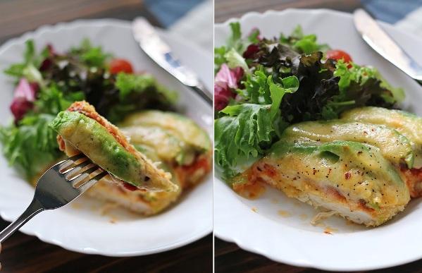 Avokado jelu daje puterast i dosta snažan ukus. Piletina sa avokadom i parmezanom