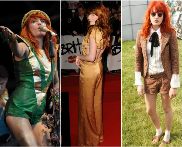 Florence Welch 2 Britanski stil uz Harpers Bazaar  godišnja lista
