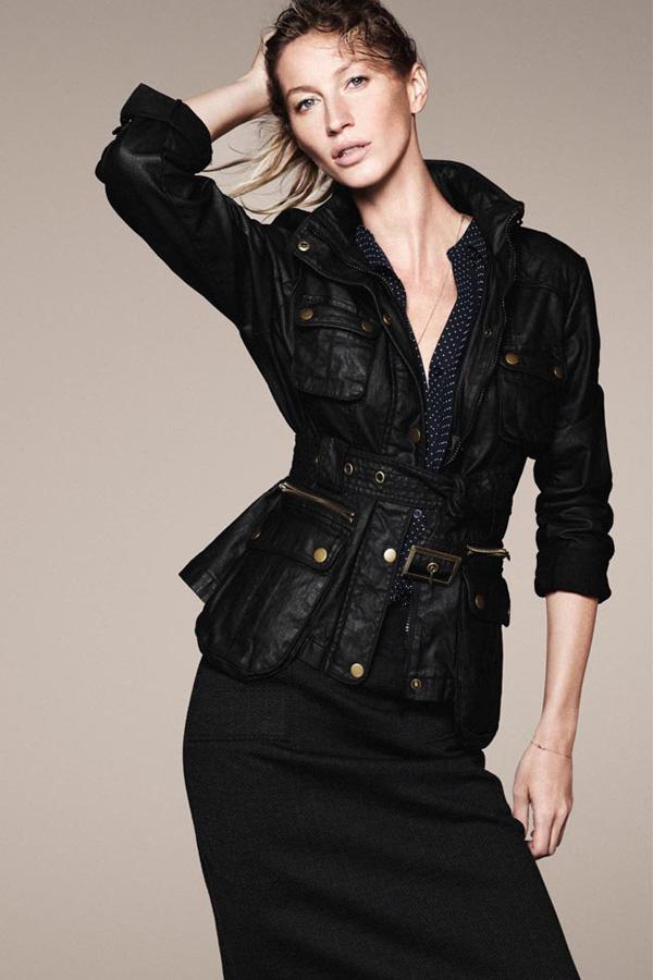 GiseleBundchenEspritAutumnWinter2011 13 Esprit: Džins i moderne jakne