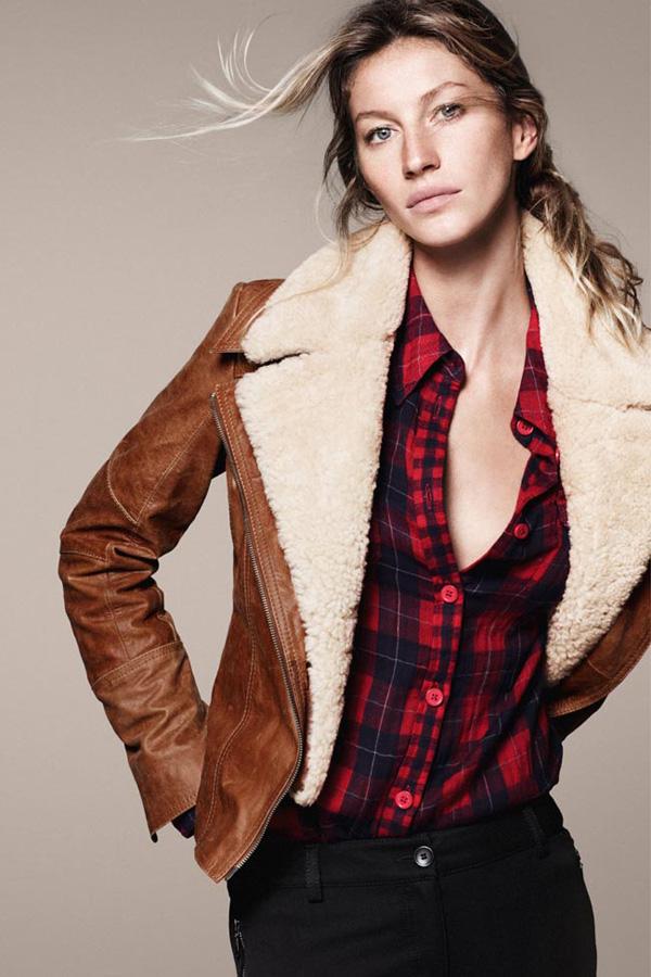 GiseleBundchenEspritAutumnWinter2011 4 Esprit: Džins i moderne jakne