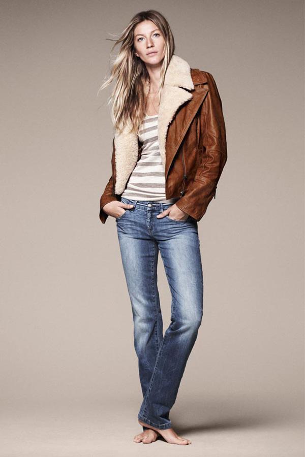 GiseleBundchenEspritAutumnWinter2011 6 Esprit: Džins i moderne jakne