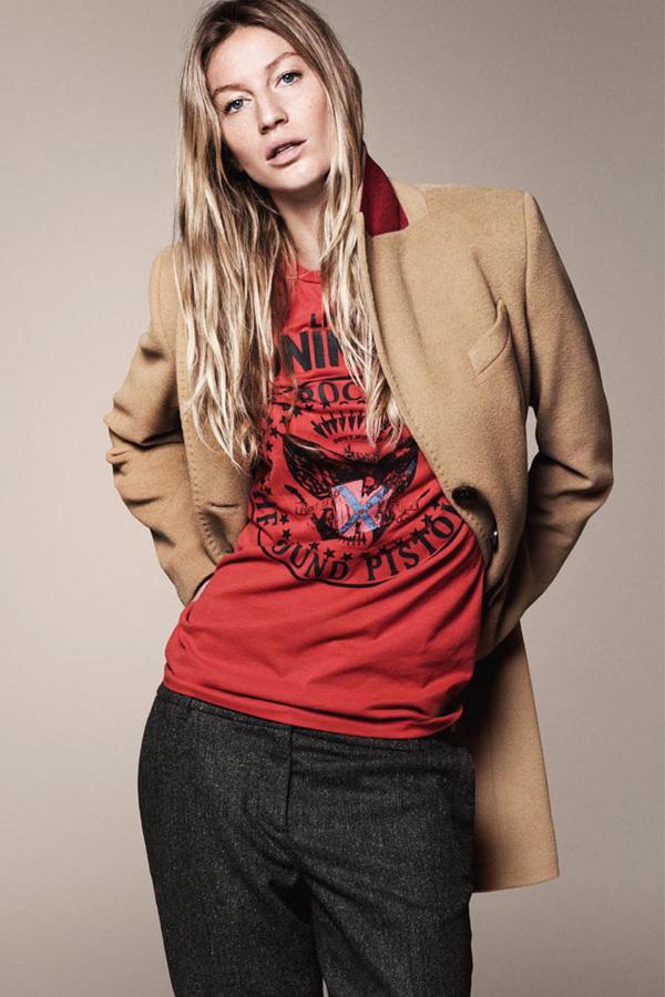 GiseleBundchenEspritAutumnWinter2011 7 Esprit: Džins i moderne jakne