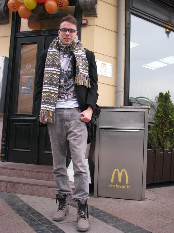 Kombinacija koja je pun pogodak i very in. Street Style: Moda i Niš