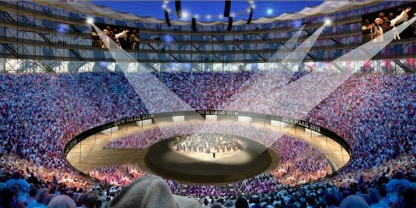 Modern Colosseum By Cepezed Architects3 Da Vinci XXI: Pozorišta, 3D majica i sprej budućnosti!