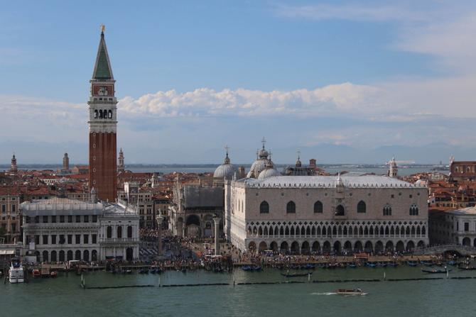 Piazza San Marco2 Trk na trg: Piazza San Marco, Venecija