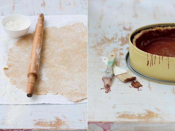 Prvi koraci u pripremi kolača Kolač sa borovnicama
