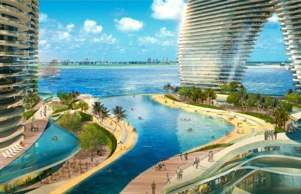 Resorts World Miami Lagoon View CArquitectonica Da Vinci XXI: Pozorišta, 3D majica i sprej budućnosti!