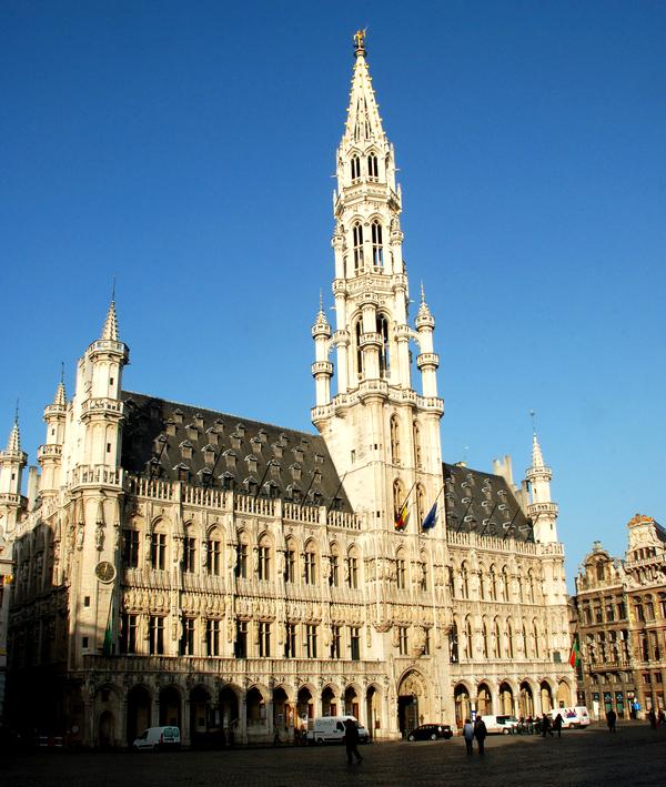 Slika 221 Trk na trg: Grand Place, Brisel