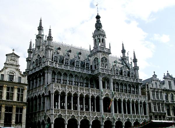 Slika 318 Trk na trg: Grand Place, Brisel
