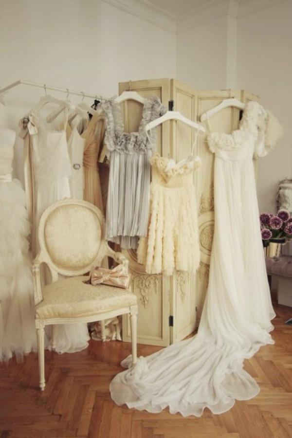 Slika 6 paravan Devojačke sobe – romantični, vintage stil