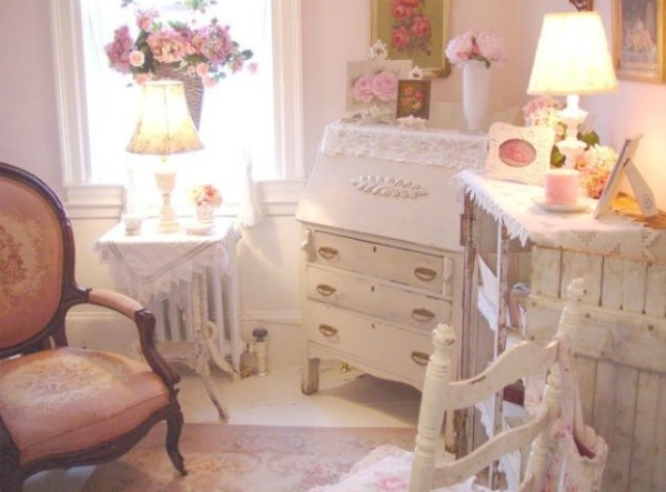 Slika 7 Devojačke sobe – romantični, vintage stil