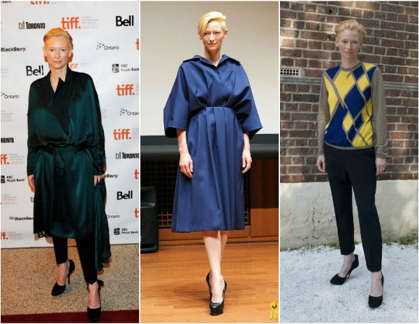 Tilda Swinton 5 Britanski stil uz Harpers Bazaar  godišnja lista