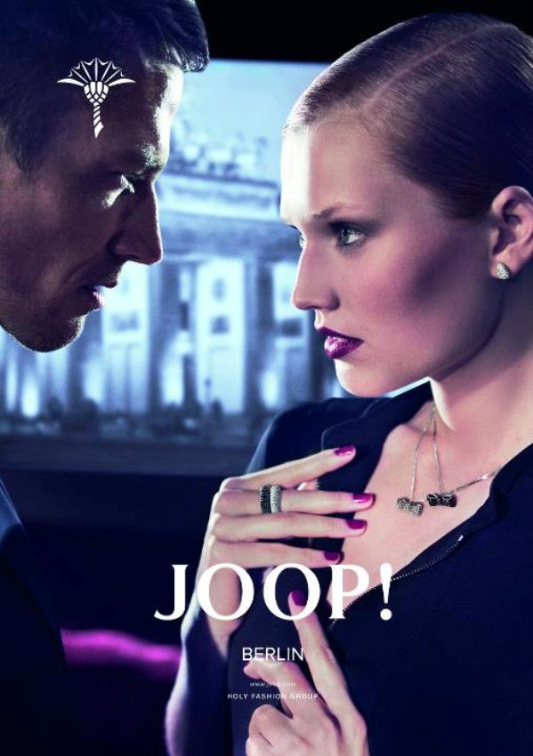 Toni Garrn and James Penfold for Joop Fall Winter 2011.12 DesignSceneNet 14 Joop: Osetite magiju