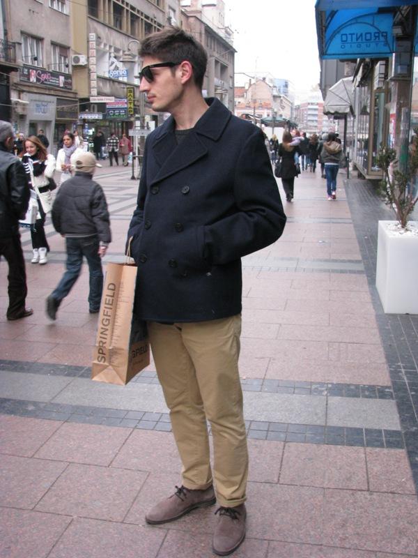 Totally 80s sunglasses i naravno in cipele must have. Street Style: Moda i Niš