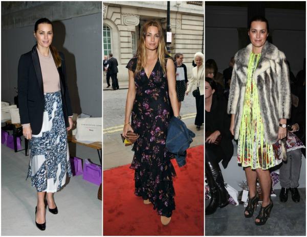 Yasmin Le Bon 15 Britanski stil uz Harpers Bazaar  godišnja lista