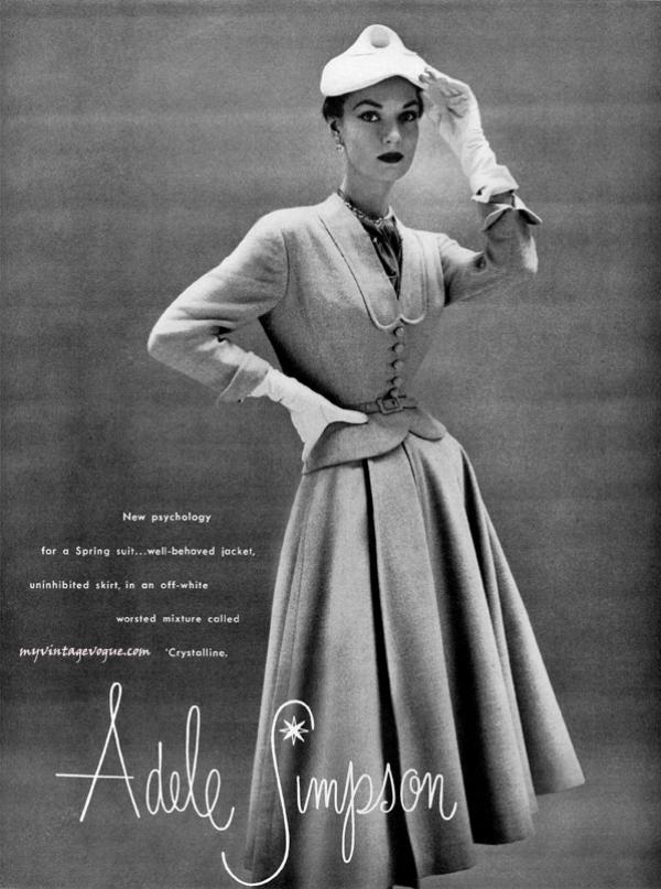 adele 1952 copy Vintage Fashion: Adele Simpson