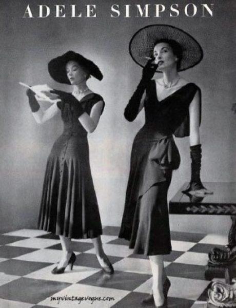 Vintage Fashion: Adele Simpson