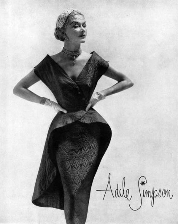 adele simpson 1951 22 Vintage Fashion: Adele Simpson
