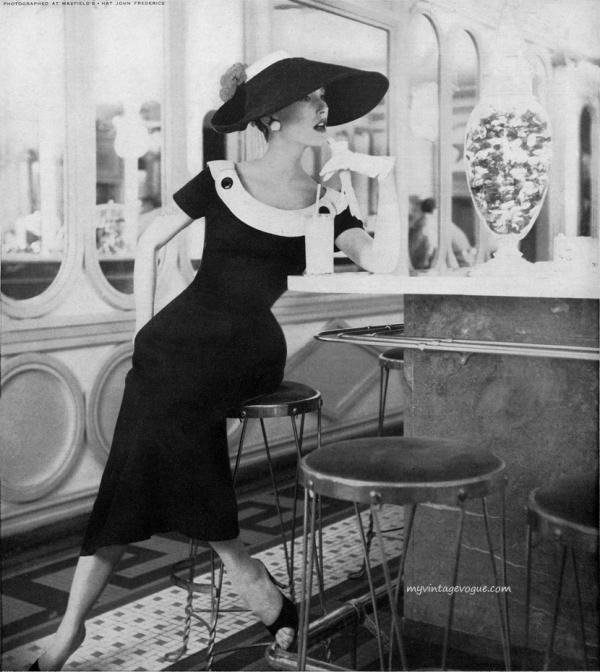 adele simpson mary jane russell 1956 Vintage Fashion: Adele Simpson