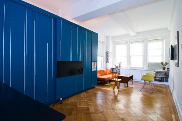 beautiful design 665x441 Origami Apartment: Mali i funkcionalan kutak