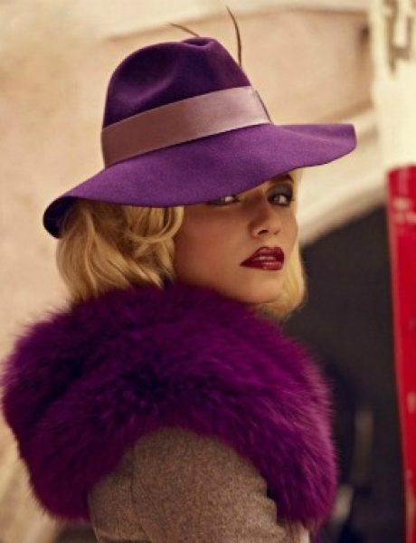 "Natasha Poly & Gucci za ""Vogue Spain"" – novembar 2011."