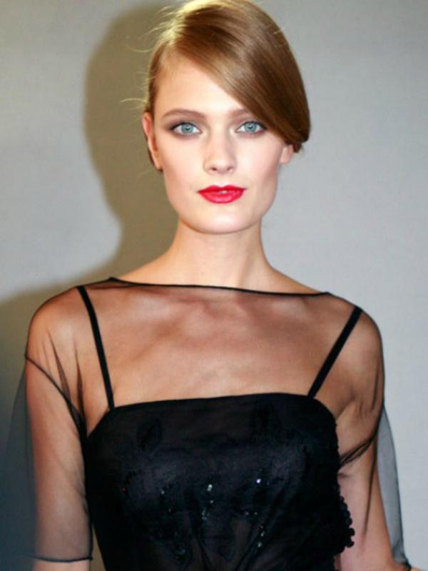dior usne koje nisu precizno nacrtane. imperfection is beauty Beauty trendovi za januar 2012. godine