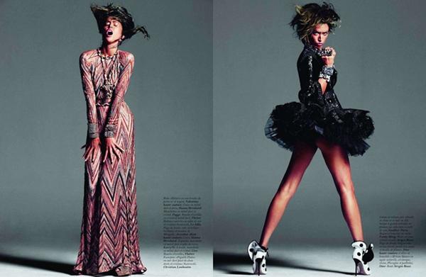 full 101 Raquel Zimmermann za Vogue Paris