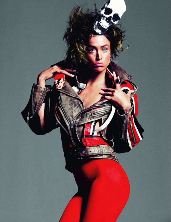 full 9 Raquel Zimmermann za Vogue Paris