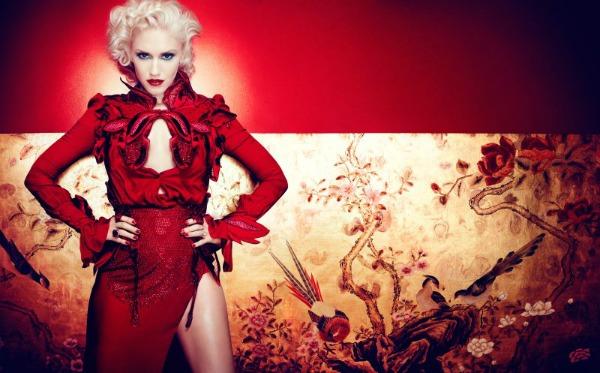 gwen stefani4 Gwen Stefani unosi pop glamur u In Style Magazine