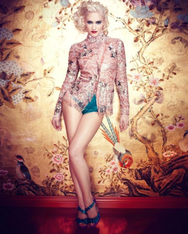 gwen stefani7 Gwen Stefani unosi pop glamur u In Style Magazine