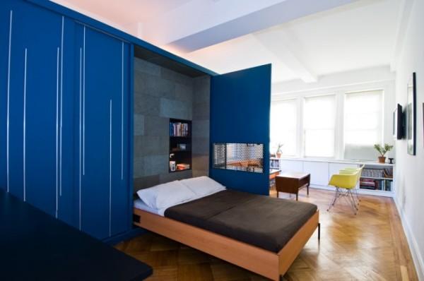 interesting space 665x441 Origami Apartment: Mali i funkcionalan kutak
