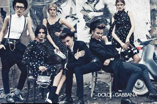 kampanja La Moda Italiana: La Dolce & Gabbana vita
