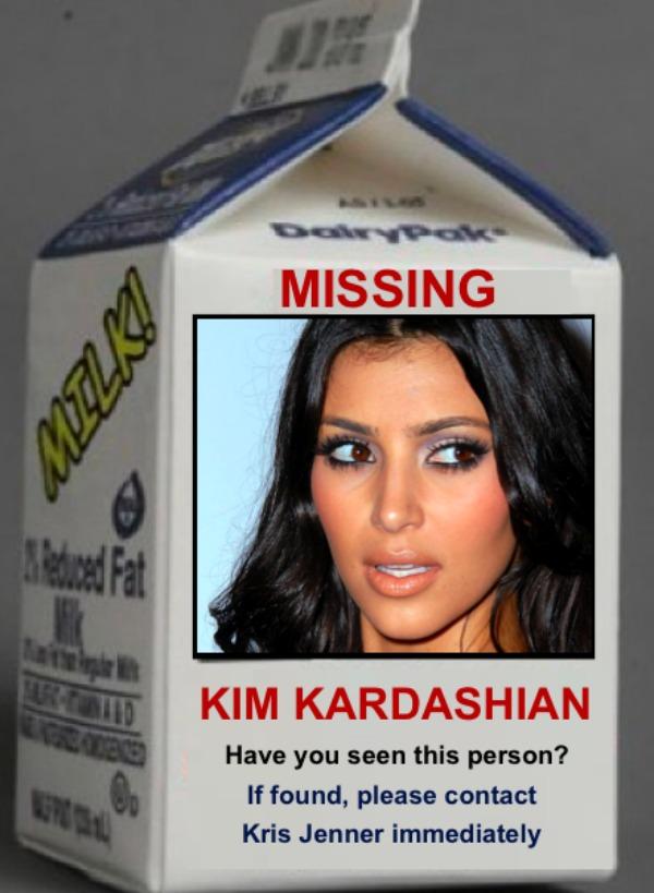 kim kardashian missing1 Trach Up   Krvopije i duhovi!