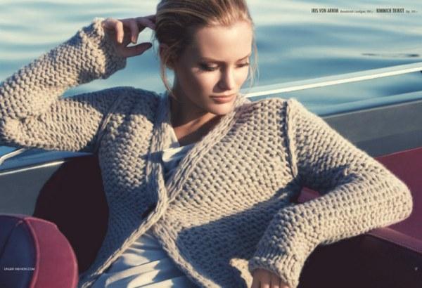 krem dzemper stoji svima UNGER fashion: Kampanja koja oduševljava