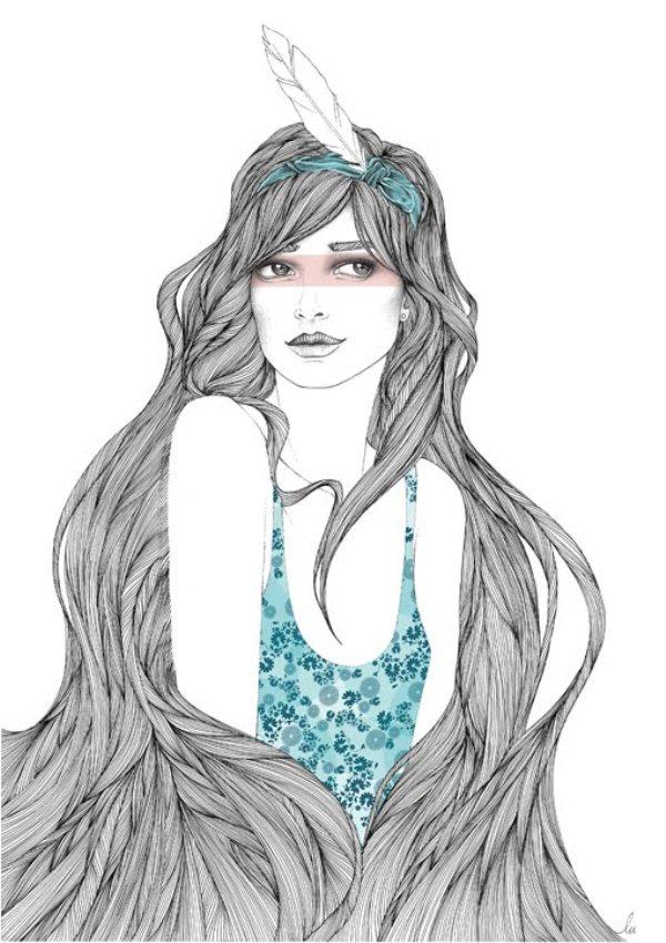 lili lu illustration little siou Wannabe intervju: Lili Lu