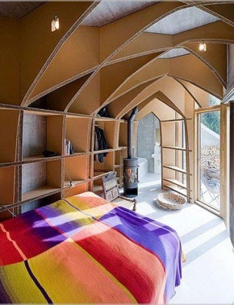 Vila snova na obroncima Alpa