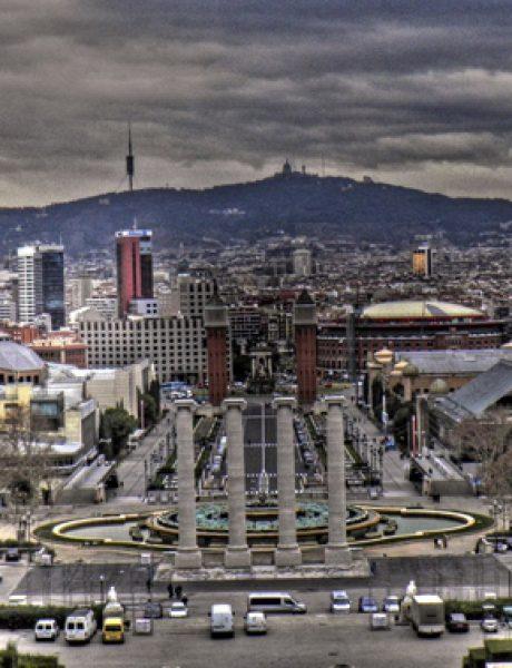 Trk na trg: Plaza de España, Barselona