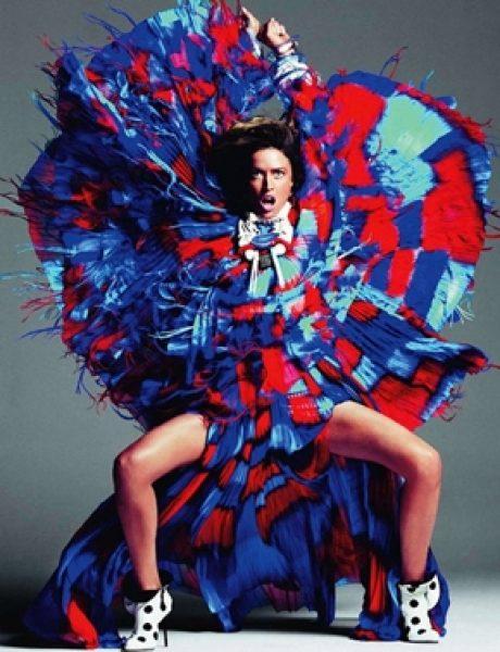"""Raquel Zimmermann za """"Vogue Paris"""""""