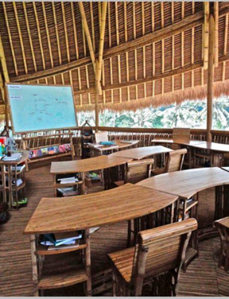 Škola od bambusa