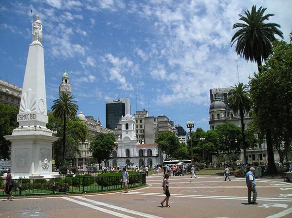 slika 51 Stazama Borhesove Argentine: Buenos Ajres