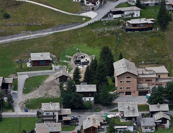slika 62 Vila snova na obroncima Alpa