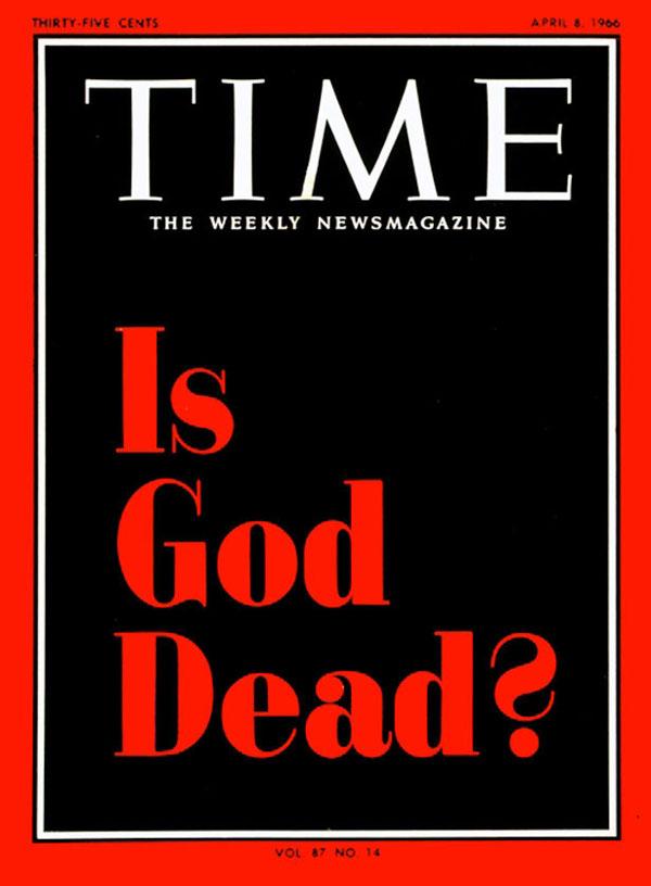 time is god dead Naslovne strane koje su uzdrmale svet (1. deo)