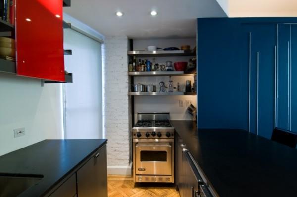 tiny kitchen design 665x441 Origami Apartment: Mali i funkcionalan kutak